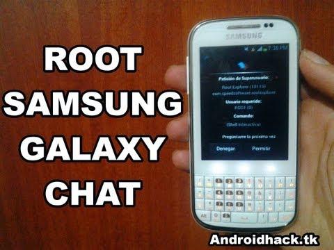 Cómo Rootear Galaxy Chat B5330 - B5330L
