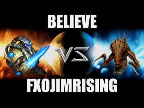 [ILaGI]Believe (P) VS [FXO]FXOJimRising (Z) -- Starcraft 2 [LAGTV]