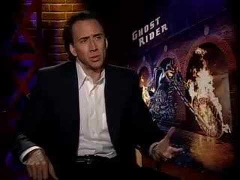 Nicolas Cage Ghost Rider Jacket Ghost Rider Nicolas Cage