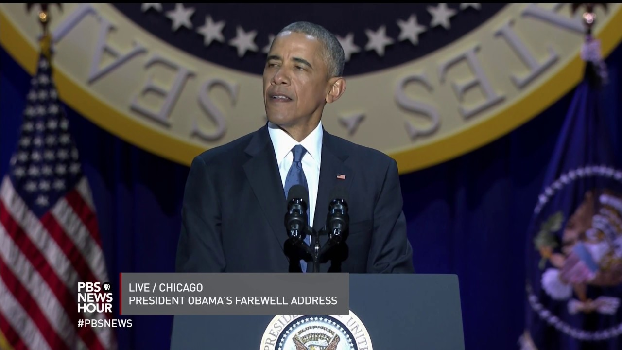 Obama: 'You made me a better President, and you made me a better man'