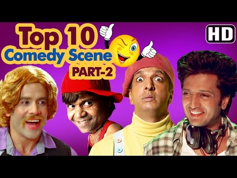 Top 10 Comedy Scenes Ft - Johnny Lever | Govinda | Kadar Khan | Paresh Rawal | Rajpal | IndianComedy