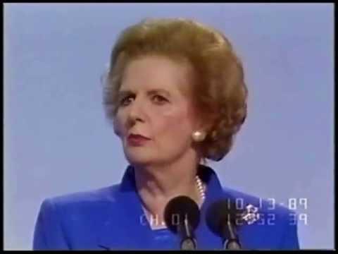 Margaret Thatcher on Global Warming