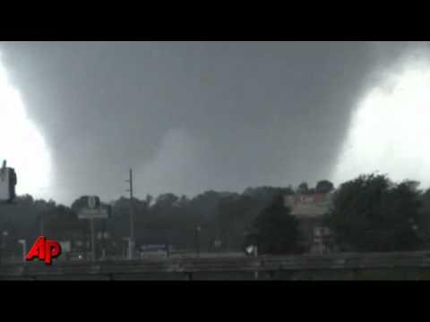Massive Tornado - Tuscaloosa Alabama
