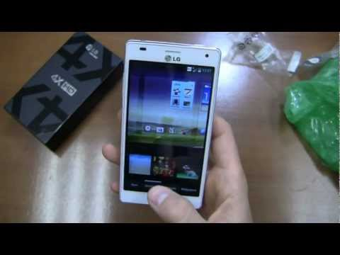 LG Optimus 4X HD Unboxing