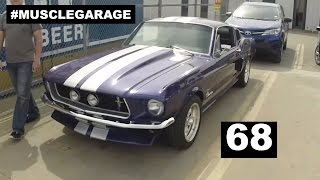 #MUSCLEGARAGE 68 (Ford Mustang 1968 fastback review)