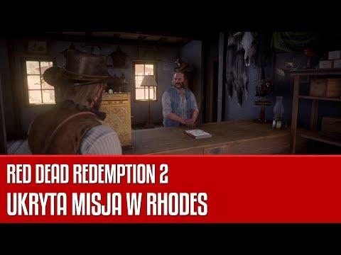 Ukryta Misja W Mieście Rhodes W Grze Red Dead Redemption 2