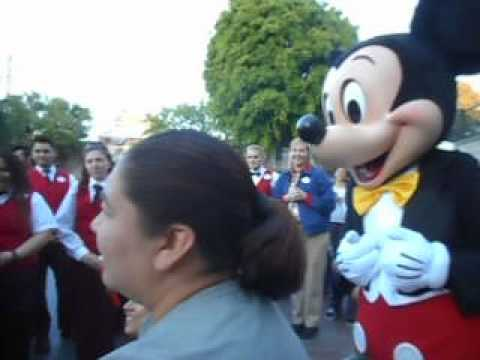 Disneyland's Magical Birthday Surprise