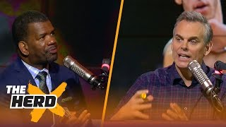 Rob Parker and Colin Cowherd on Lonzo's benching, UCLA's shoplifting incident in China | THE HERD