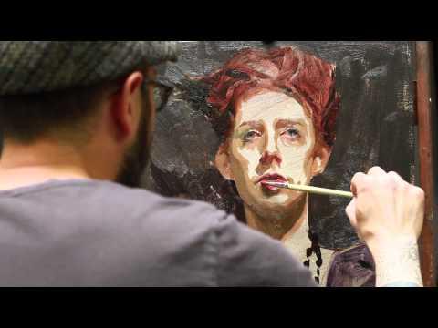 Sean Cheetham Portrait Workshop Demo