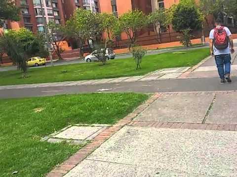 Bogota Colombia Barrio El Salitre muy bonito