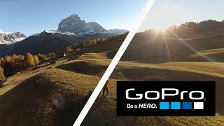GOPRO STUDIO - FISHEYE REMOVAL TEST - FPV QUADCOPTER