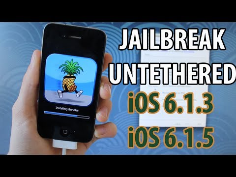 iOS 6.1.3. 6.1.5 : Jailbreak Untethered + Hacktivation sans carte SIM - iPhone 4. 3GS. iPod touch 4G