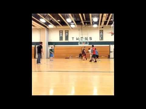Scott E. Rich pickup game footage at Columbia Greene Community College 2014-