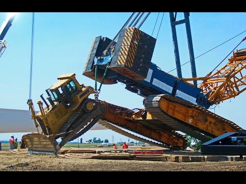 Crane crash, fail Compilation, Crane accidents caught on tape # 1
