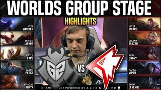 G2 vs GRF Highlights Worlds 2019 Group Stage Day 6 - G2 Esports vs Griffin Highlights Worlds 2019
