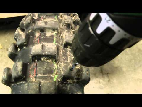 How to Make Winter Tires for a Dirt Bike