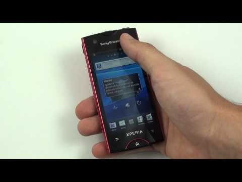 Sony Ericsson Xperia Ray - OS Android 2.3 Gingerbread