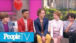 'IT' Cast Reveals Casting Secrets, On-Set Stories, Talks 'Stranger Things' & More | PeopleTV