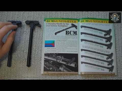 BCM Gunfighter Pre-Production Charging Handle