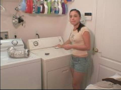 How To Do Laundry : How to Clean the Lint Trap on a Dryer