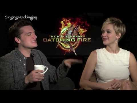 Funny moments part 2 with Jennifer Lawrence & Josh Hutcherson