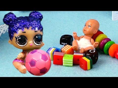 Кукла ЛОЛ и ее мальчик потеряли сестренку lol lil sisters. Мультик про живые куклы лол сюрприз