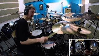 ALKALOID Hannes Grossmann - Alter Magnitudes (drum playthrough)