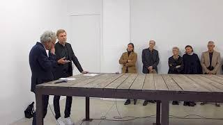 Miroslaw Balka and Julian Heynen | Artist Talk | Galerie Nordenhake Berlin | September 15, 2017