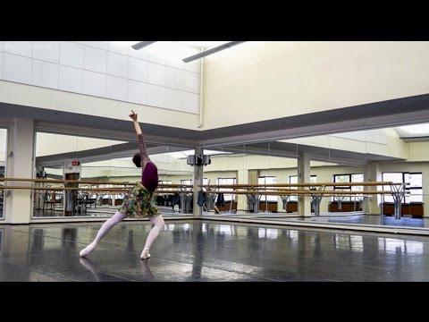 Day in Life of a Ballerina(Anastasia Limenko) - Stanislavski Theatre (Moscow) +EngSubs