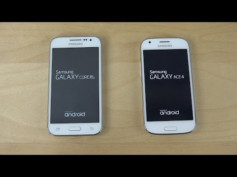 Samsung Galaxy Core Prime vs. Samsung Galaxy Ace 4 - Which Is Faster? (4K)
