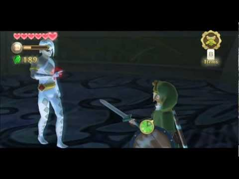 The Legend of Zelda Skyward Sword - Ghirahim First Battle (Hero mode)