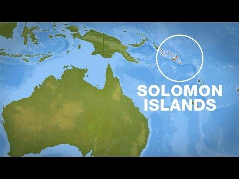 6 0 Magnitude Earthquake Hits Solomon Islands