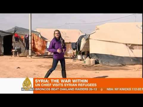 UN makes international aid appeal for Syrian refugees