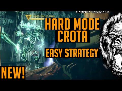 Destiny How to Beat Hard Mode Crota Easy | Hard Mode Crota Easy Strategy Tutorial