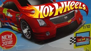 NEW FOR 2018 HOTWHEELS CADILLAC ATS V R LEGENDS OF SPEED