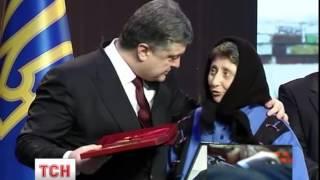 Петро Порошенко вручив сьогодні 107 орденів Золота зірка Героя України - (видео)