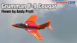 SUPER SCALE Grumman F9F COUGAR RC jet (Jet Legend, 1:5.8 scale, JetCat P140RXi turbine engine)