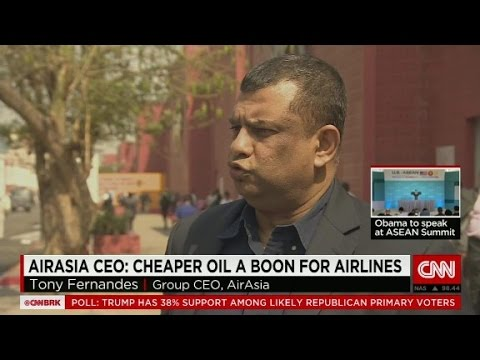 Cheap oil means cheaper air travel, says AirAsia CEO