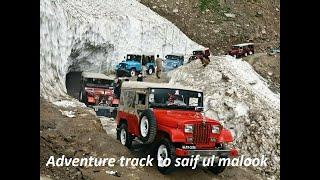 Adventure track to Lake Saif Ul Malook