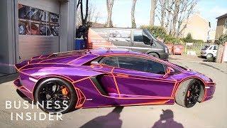 Meet The Guy Who Wraps Celebrities' Luxury Cars