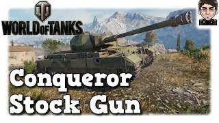 World of Tanks - Conqueror, Stock Gun [deutsch | gameplay]