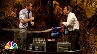 Water War: Ryan Reynolds vs. Jimmy Fallon (Late Night with Jimmy Fallon)