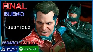 INJUSTICE 2 FINAL BUENO Español Latino Gameplay | Capitulo 12 BATMAN V SUPERMAN WONDER WOMAN