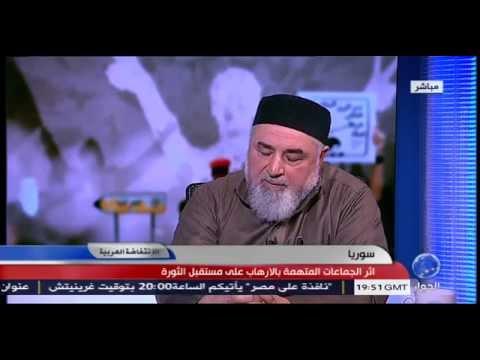 ابو بصير الطرطوسي يحلل اثر الجماعات المتهمة بالارهاب على مستقبل الثورة السورية