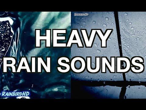 'Rain' 2 Hours of Heavy Rainfall and Thunder Sounds   High Quality Sleeping Sounds