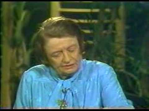 Ayn Rand Phil Donahue Interview Part 1 of 5