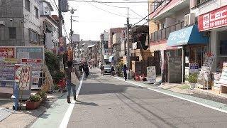 関西大学正門前から阪急関大前駅まで4K動画で歩き撮り