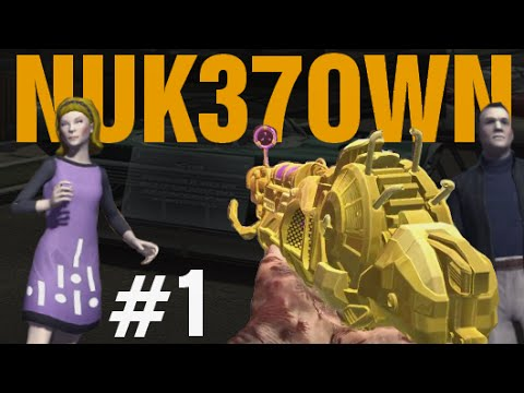 """GOLD RAY GUN MARK 2 - DOUBLE PACK-A-PUNCH! NUK37OWN """"Call of Duty Zombies"""" Gameplay"""