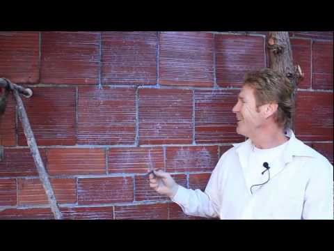 Plastering or parging  Terra Cotta block or Brick walls
