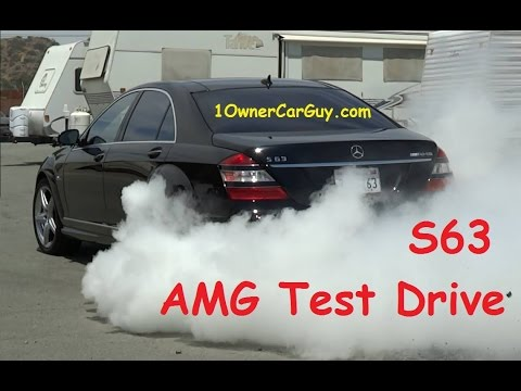 S63 Test Drive Mercedes W221 Road Test Video
